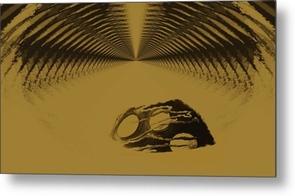 History Of The Future Metal Print