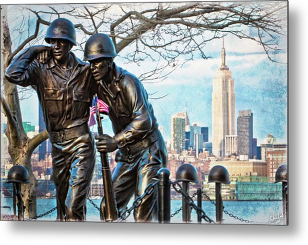 Hoboken War Memorial Metal Print