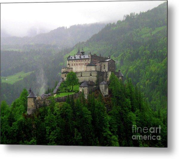 Hohenwerfen Castle Metal Print