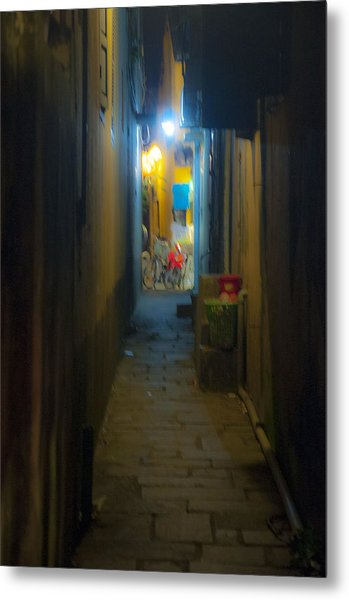Hoi An Alleyway Metal Print