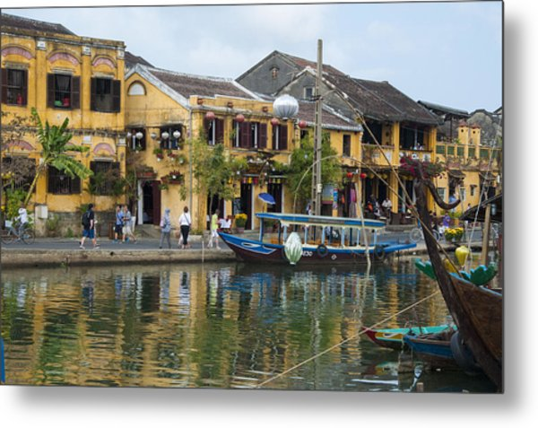 Hoi An On The River Metal Print