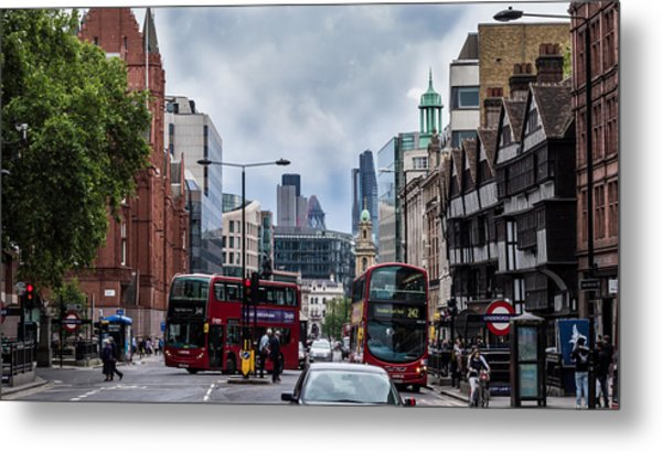 Holborn - London Metal Print