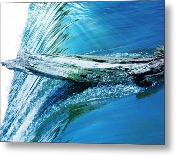 Hold On Metal Print