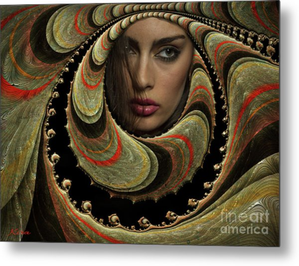 Hold The Darkness And Stay The Night Metal Print