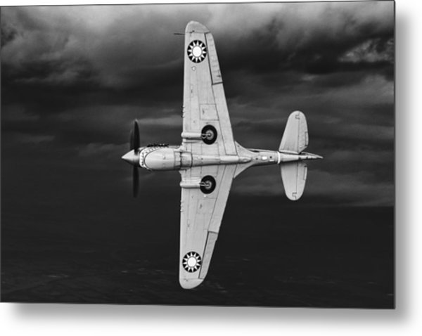 Holding Back The Storm Metal Print
