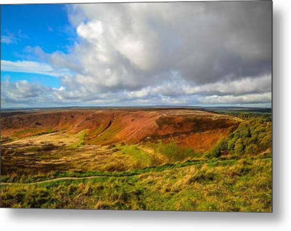 Hole Of Horcum, North York Mores, Yorkshire, United Kingdom Metal Print