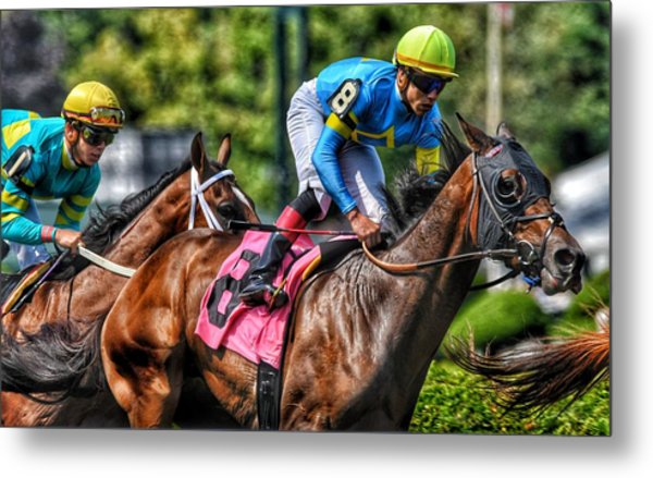 Holiday Bonus W Irad Ortiz,jr Metal Print