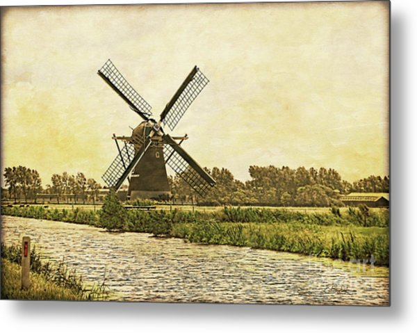 Holland - Windmill Metal Print