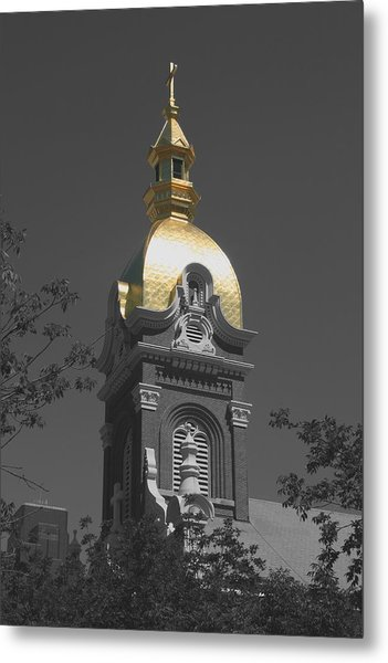 Holy Church Of The Immaculate Conception - Colorized Metal Print