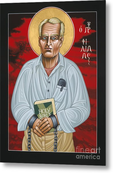 Holy Prophet Philip Berrigan 125 Metal Print