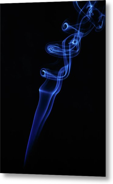 Metal Print featuring the photograph Holy Smoke by Bryan Carter