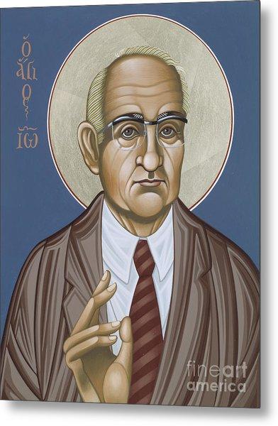 Holy Theologian Hans Urs Von Balthasar 110 Metal Print