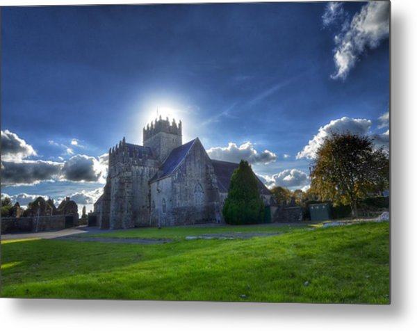 Holycross Halo Metal Print