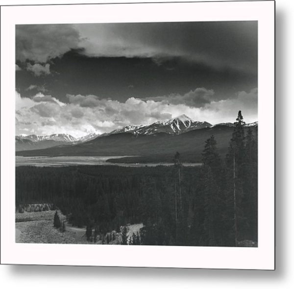 Homage To Ansel Metal Print by Jim Furrer