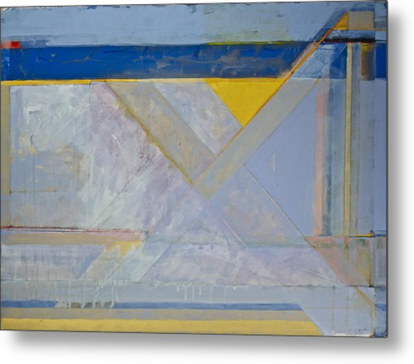 Homage To Richard Diebenkorn's Ocean Park Series  Metal Print