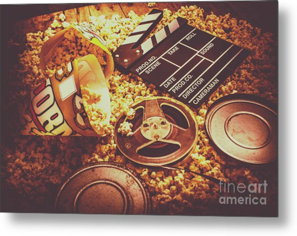 Home Cinema Art Metal Print
