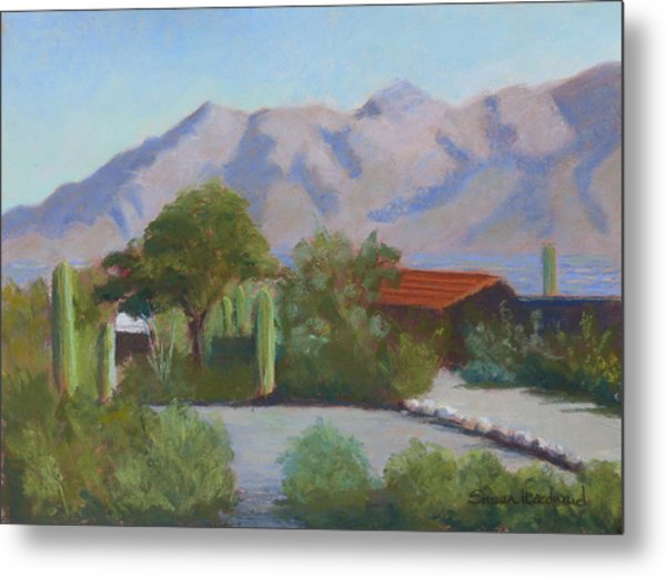 Home In The Catalinas Metal Print