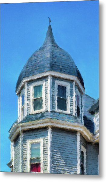 Home In Winthrop By The Sea Metal Print