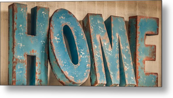Home.......other Colour Setups Are Possible Metal Print