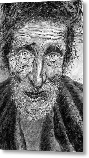 Homeless Mr. Craig Metal Print