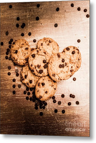 Homemade Biscuits Metal Print