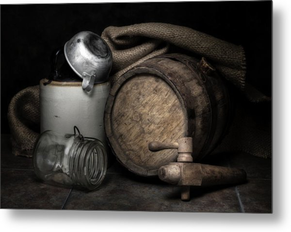 Homemade Whiskey Metal Print