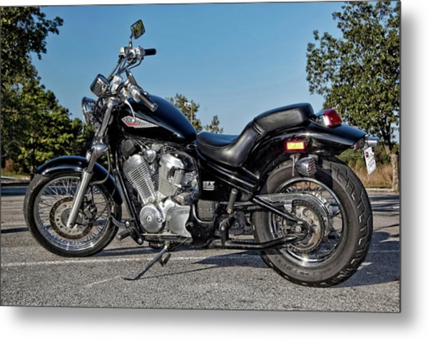 Honda Shadow Metal Print
