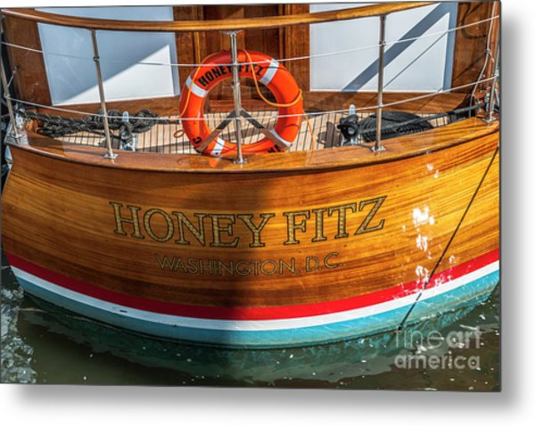 Honey Fitz Metal Print