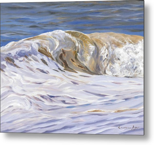 Honey Wave Metal Print