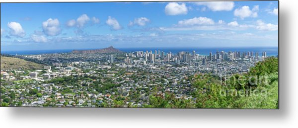 Honolulu  Metal Print