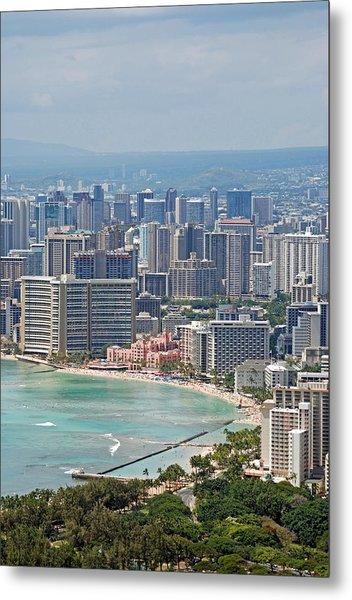 Honolulu Hawaii  Metal Print