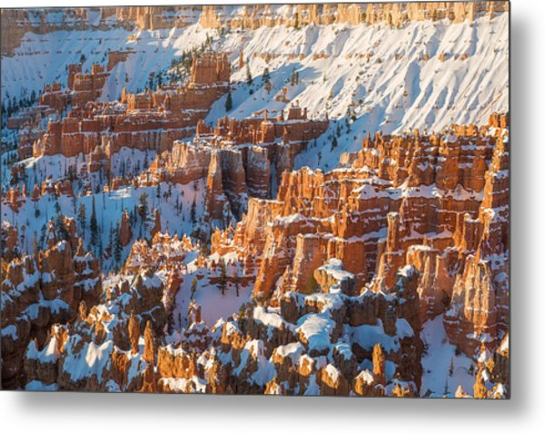 Hoodoo Sunrise Metal Print