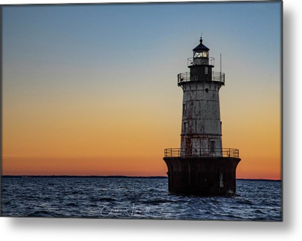 Hoopers Island Sunset Metal Print