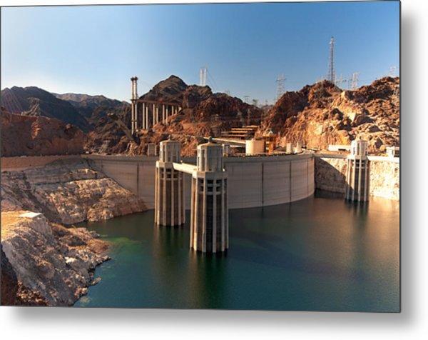 Hoover Dam Metal Print by Melody Watson