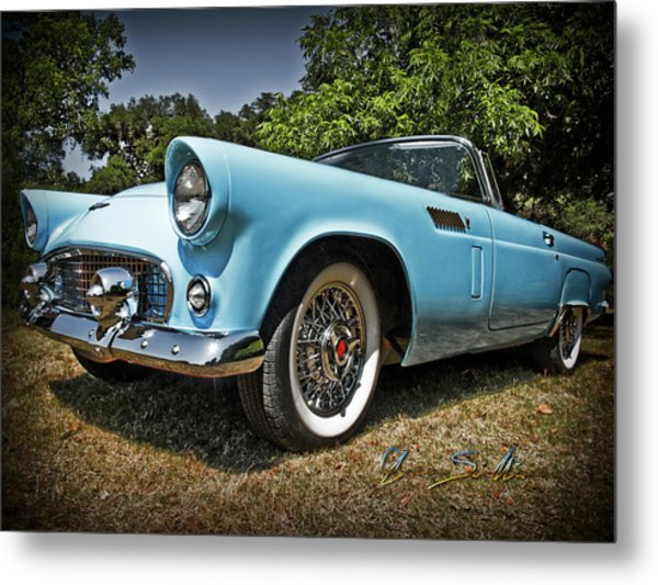 Hop In For A Ride Metal Print