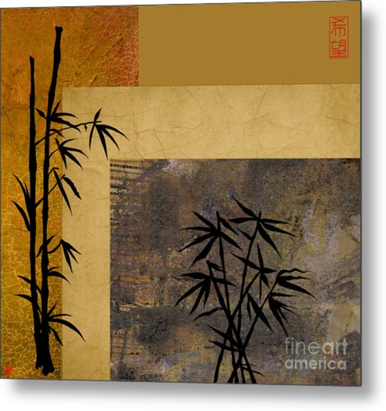 Hope And Bamboo Metal Print