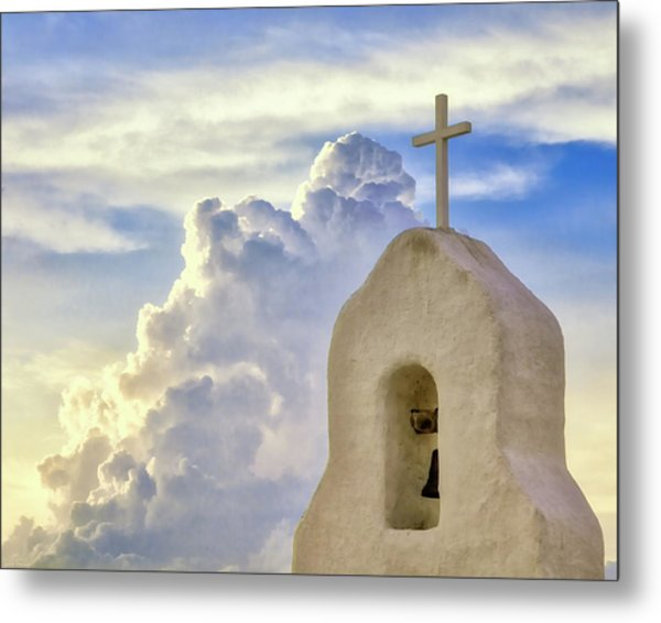 Hope In The Storm Metal Print