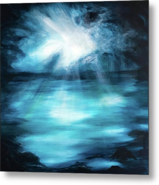 Metal Print featuring the painting Hope by Michelle Pier