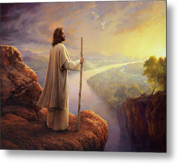 Metal Print featuring the painting Hope On The Horizon by Greg Olsen