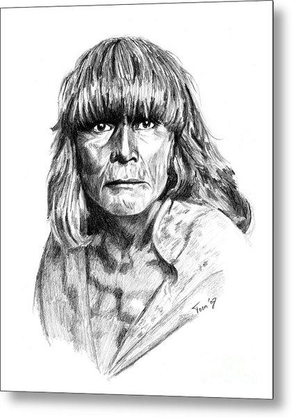 Hopi Man 1921 Metal Print