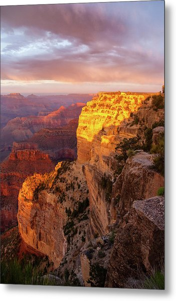 Hopi Point Sunset 2 Metal Print