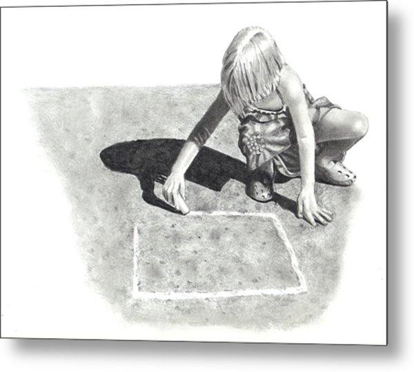 Hopscotch Metal Print by Joyce Geleynse