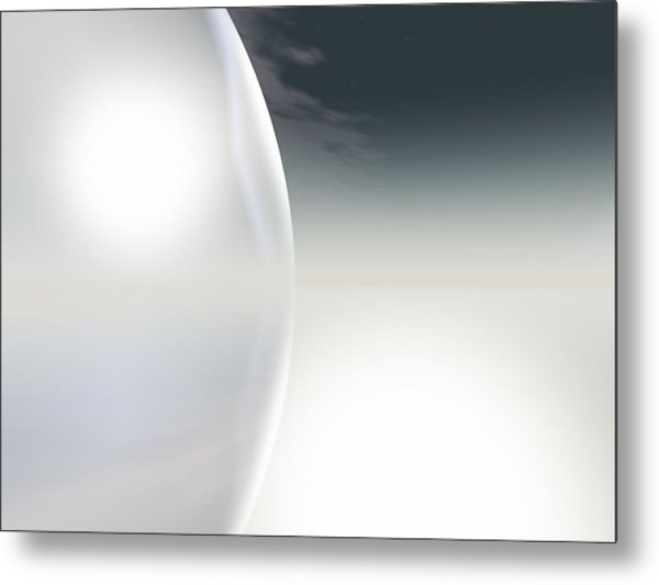 Horizon Metal Print by Frau Stock