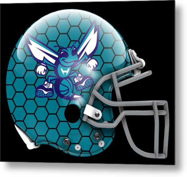 Hornets What If Its Football Metal Print