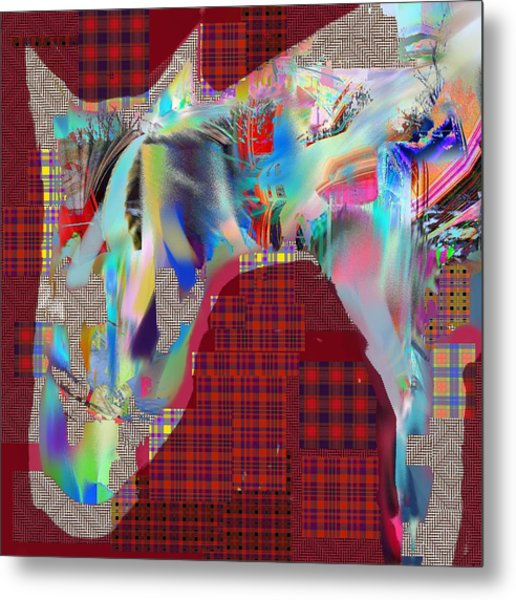 Horse 2 Metal Print by Dave Kwinter