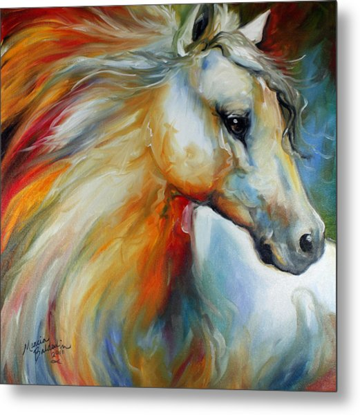 Horse Angel No 1 Metal Print