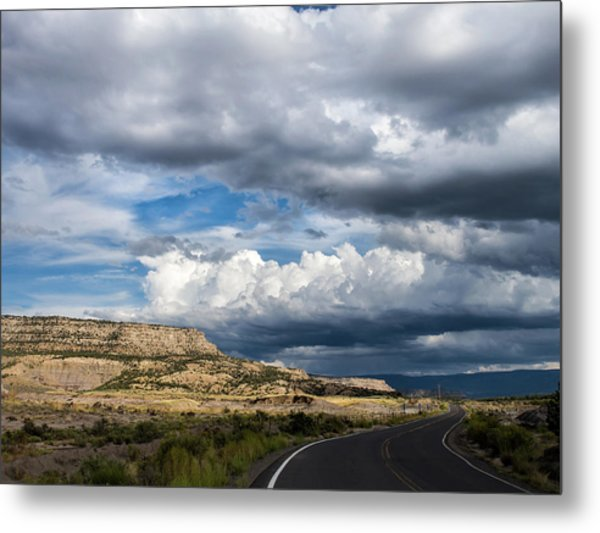 Metal Print featuring the photograph Horse Canyon By De Beque Colorado by Nadja Rider