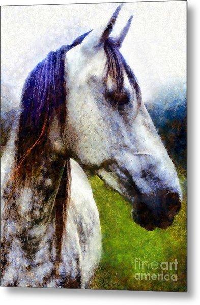 Horse I Dream Of You Metal Print