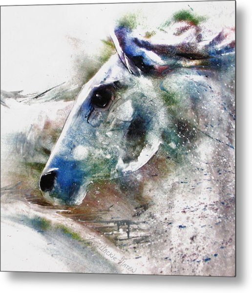 Horse Of Color Metal Print