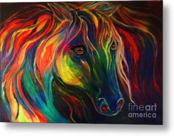 Horse Of Hope Metal Print
